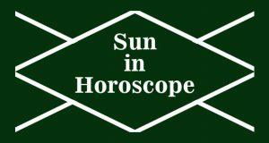 Sun in Horoscope