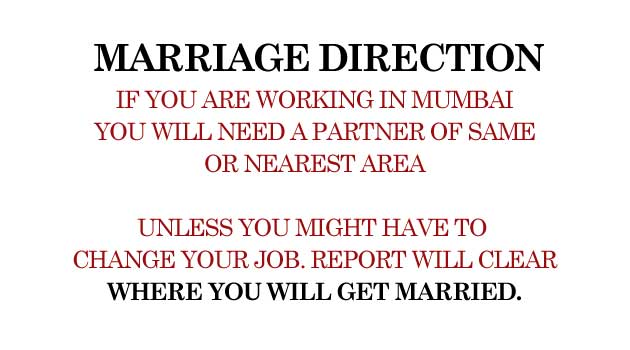Prediction of your Marriage Direction