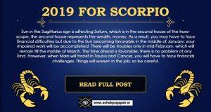 Scorpio 2019 Horoscope Predictions