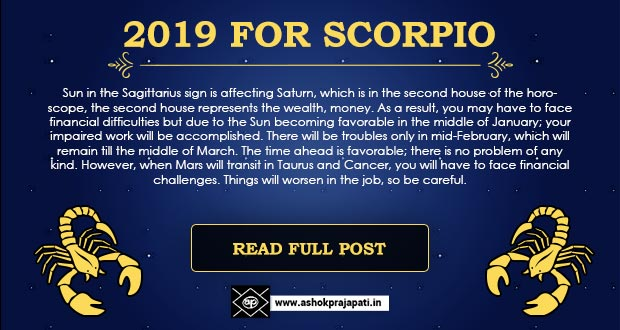 Scorpio Horoscope for October 12222
