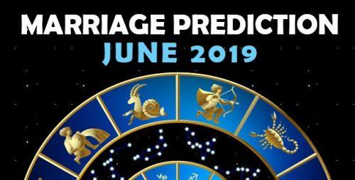 Marriage Prediction June 2019