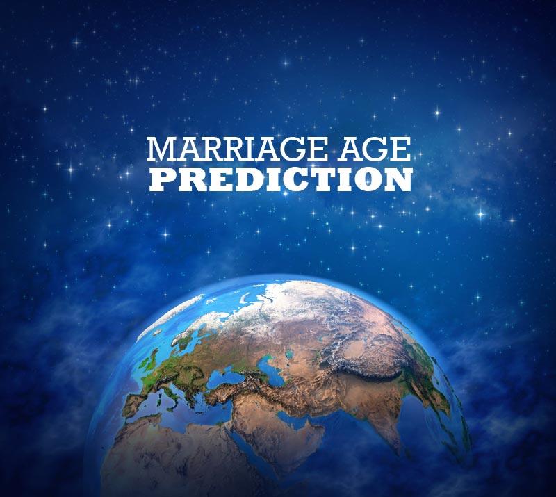 Marriage age prediction