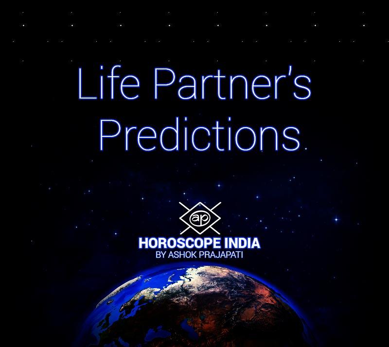Life Partner's Prediction by Horoscope India Astrologer Ashok Prajapati