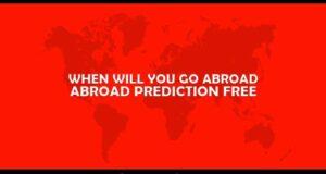 Abroad Prediction Free